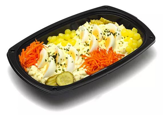 Russisch ei salade